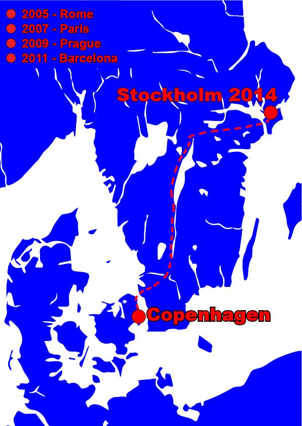 københavn stockholm